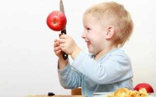 Почему нельзя есть с ножа