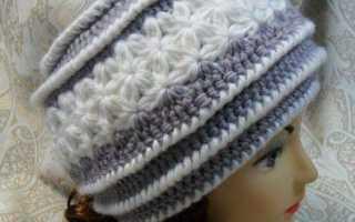 Вяжем шапку кубанку спицами для женщин