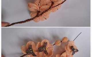 Разные техники плетения цветка орхидеи из бисера