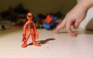 Человек из пластилина: делаем поэтапно с фото