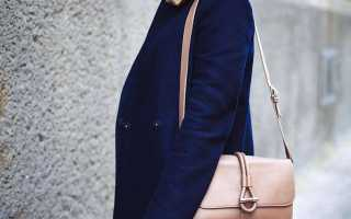 Синее пальто с чем носить, стильные советы и интересные идеи, фото