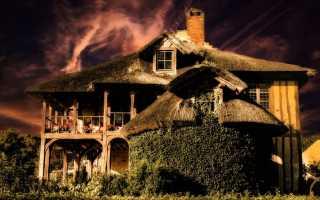 Старый деревянны дом