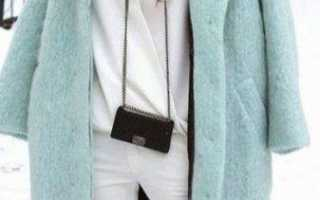 С чем лучше носить пальто-кокон?