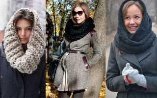 Подборка схем и описаний для вязания красивых шарфов крючком