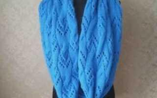 Схема вязания английской резинки спицами