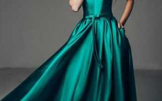 С чем носить изумрудное платье? макияж, маникюр, туфли под изумрудное платье