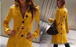 Яркий штрих! с чем носить желтое пальто, пуховик и куртку?