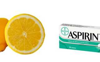 Маски для лица с аспирином