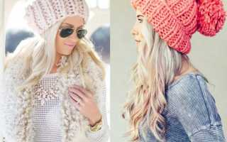 Как связать шапку спицами для женщины