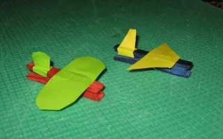 Самолет из пластилина: мастер-класс с пошаговой инструкцией и фото