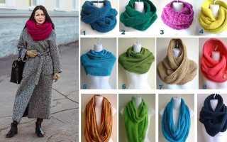 Интересный снуд спицами. как связать шарф-снуд своими руками: способы вязки. размеры в один оборот