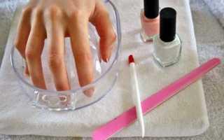 Как снять лак гель с ногтей в домашних условиях