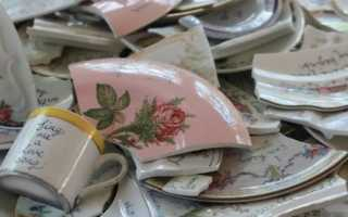 Полное собрание примет о том, к чему бьется посуда в доме (тарелки, чашки, кружки)