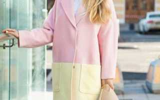 С чем носить розовое пальто 2018 фото модные направления