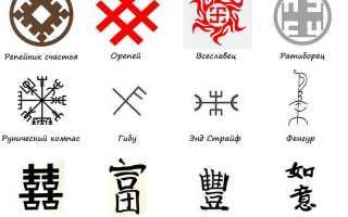 Символы удачи и везения разных народов