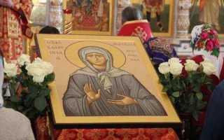 В чем помогает святая матрона московская и как правильно читать тексты молитв