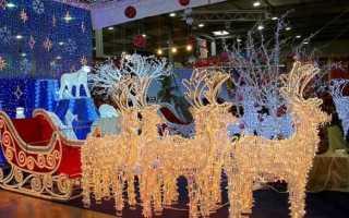 Золотое копытце: новогодний олень для украшения праздника