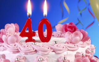 Почему нельзя отмечать 40 лет женщинам и мужчинам