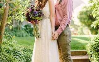 Платья кружевные свадебные стиль «бохо»