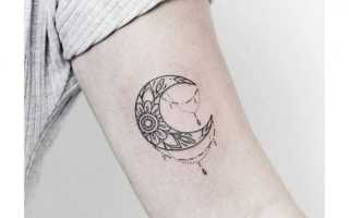 Славянский оберег лунница