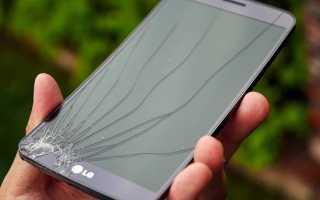 Как избавиться от трещин на телефоне